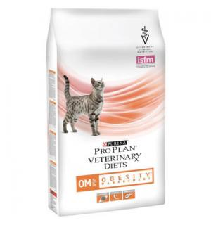 Сухой корм Pro Plan PPVD OM St/Ox для взрослых кошек для снижения избыточной массы тела, с низкой калорийностью (0,35 кг)
