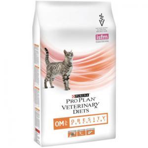 Сухой корм Pro Plan PPVD OM St/Ox для взрослых кошек для снижения избыточной массы тела, с низкой калорийностью (1,5 кг)