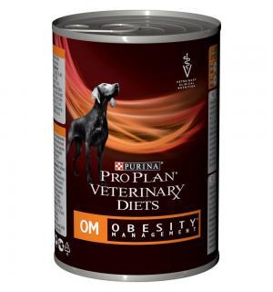 Консервы Pro Plan VETERINARY DIETS ОМ для взрослых собак при ожирении (0,4 кг)
