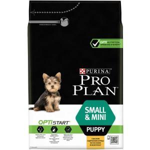 Сухой корм Pro Plan для щенков мелких и карликовых пород, с курицей и рисом (7 кг)
