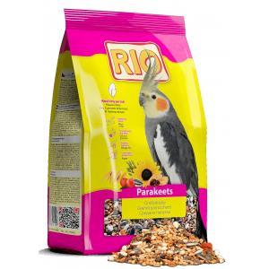 Корм RIO для средних попугаев в период линьки (0,5 кг)