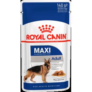 Влажный корм ROYAL CANIN MAXI ADULT для собак, в соусе (0,14 кг)