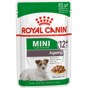 Влажный корм ROYAL CANIN MINI AGEING для собак, в соусе (0,085 кг)