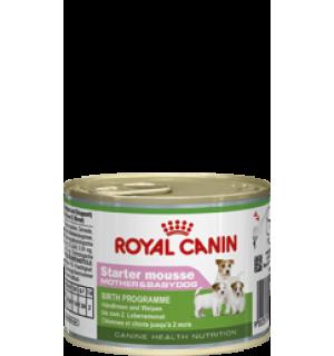Консервы ROYAL CANIN STARTER MOUSSE для щенков до 2-х месяцев (0,195 кг)