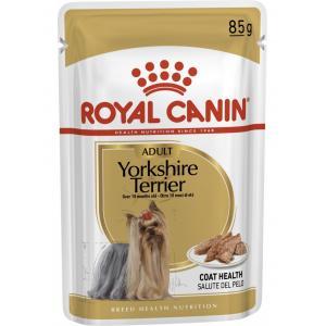 Влажный корм ROYAL CANIN YORKSHIRE TERRIER паштет для йоркшерских терьеров (0,085 кг)