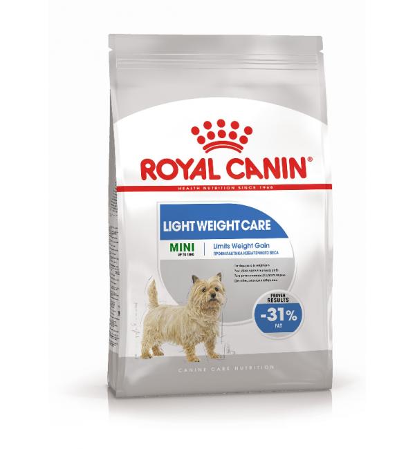 Сухой корм ROYAL CANIN Mini Light Weight Care для собак мелких пород (1 кг)