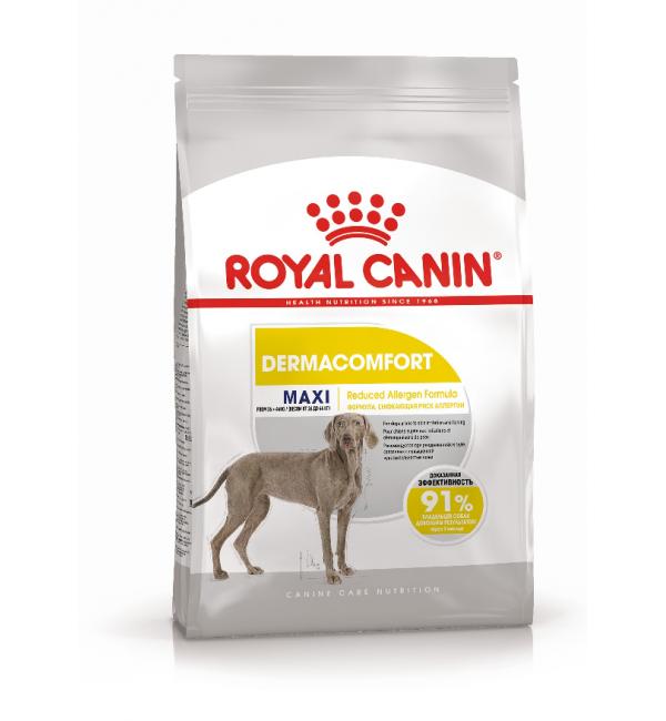 Сухой корм ROYAL CANIN Maxi Dermacomfort для собак с чувствительной кожей (10 кг)