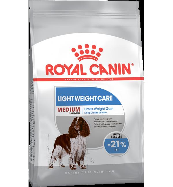 Сухой корм ROYAL CANIN Medium Light Weight Care (3 кг)