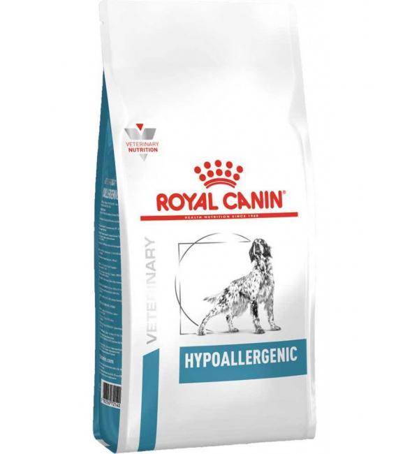 Сухой корм ROYAL CANIN Hypoallergenic Canin диета для собак при аллергии (2 кг)