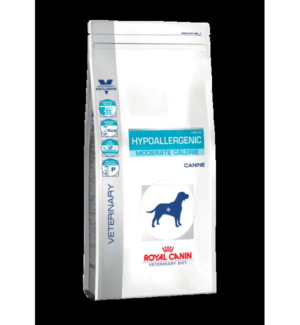Сухой корм ROYAL CANIN Hypoallergenic Moderate Energy диета для собак (1,5 кг)