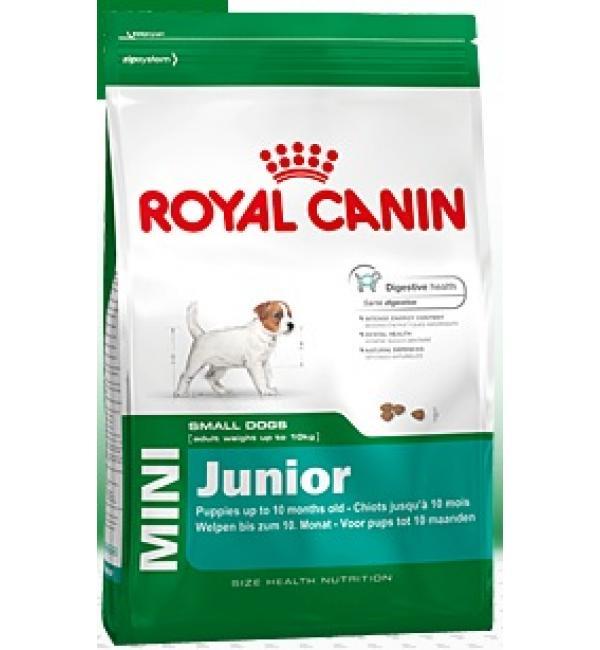 Сухой корм ROYAL CANIN Mini Junior для щенков мелких пород с 2 месяцев (4 кг)