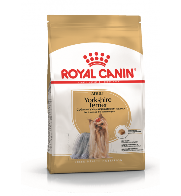Сухой корм ROYAL CANIN Yorkshire для собак породы йоркширский терьер (7,5 кг)