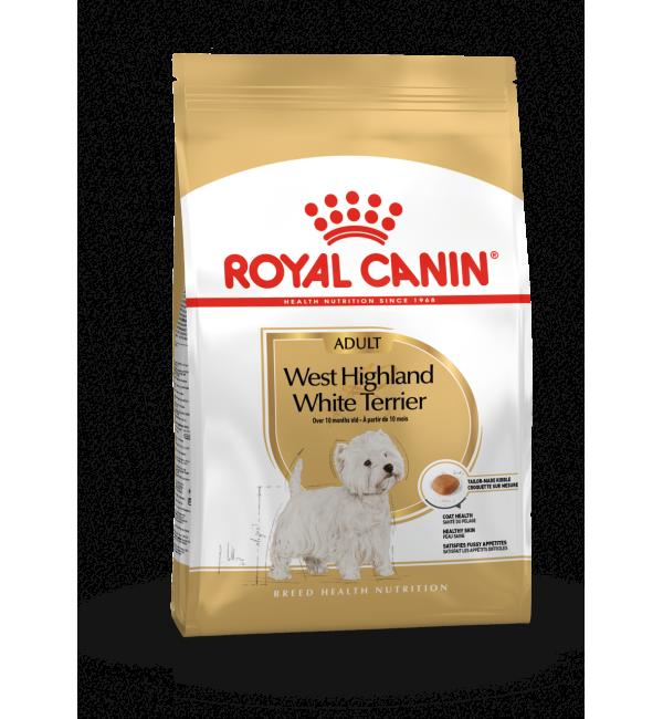 Сухой корм ROYAL CANIN West Highland White Terrier корм для собак породы вест (1,5 кг)