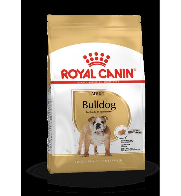 Сухой корм ROYAL CANIN Bulldog для собак породы английский бульдог с 12 месяцев (12 кг)