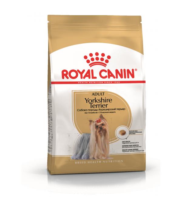 Сухой корм ROYAL CANIN Yorkshire для собак породы йоркширский терьер (1,5 кг)