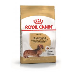 Сухой корм ROYAL CANIN Dachshund для взрослых собак породы такса с 10 месяцев (1,5 кг)