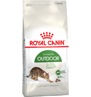 Сухой корм ROYAL CANIN Outdoor для активных взрослых кошек (0,4 кг)