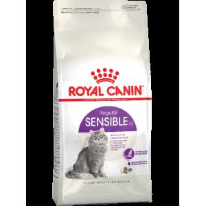 Сухой корм ROYAL CANIN Sensible для кошек с чувствительным пищеварением (0,4 кг)