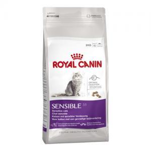 Сухой корм ROYAL CANIN Sensible для кошек с чувствительным пищеварением (2 кг)