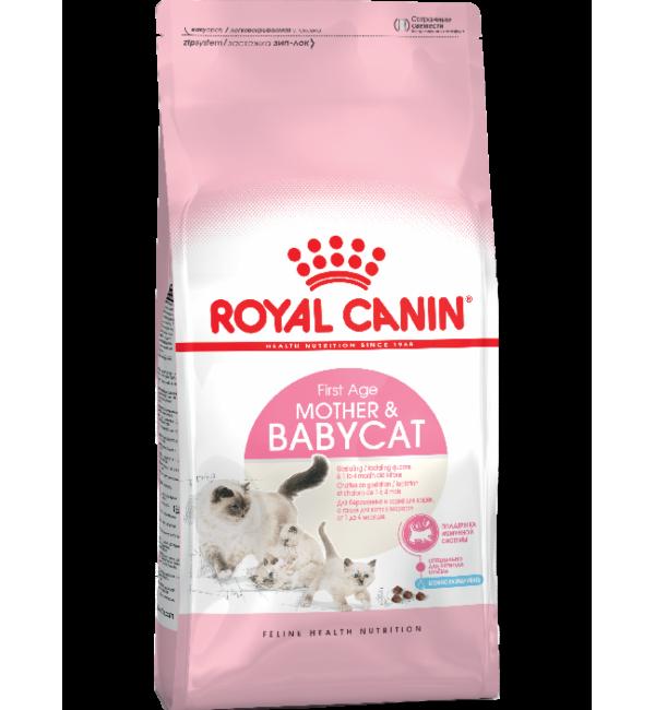 Сухой корм ROYAL CANIN Mother&Babycat для котят 1-4 месяцев (4 кг)
