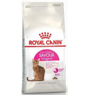 Сухой корм ROYAL CANIN Exigent Savour Sensation - корм для кошек привередливых ко вкусу продукта 2 кг