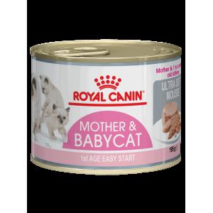Влажный корм ROYAL CANIN BABYCAT INSTINCTIVE, мусс с рождения до 4 месяцев (0,195 кг)