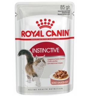 Влажный корм ROYAL CANIN INSTINCTIVE in GRAVY, аппетитные кусочки в соусе (0,085 кг)