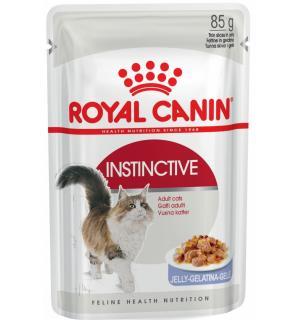 Влажный корм ROYAL CANIN INSTINCTIVE  in JELLY, кусочки в желе (0,085 кг)