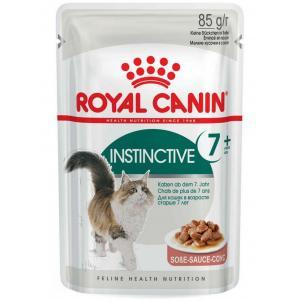 Влажный корм ROYAL CANIN INSTINCTIVE +7 in GRAVY, кусочки в соусе (0,085 кг)