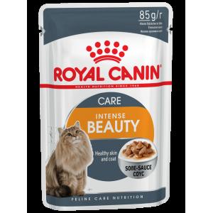 Влажный корм ROYAL CANIN INTENSE BEAUTY in GRAVY для красоты шерсти (0,085 кг)