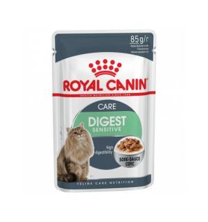 Влажный корм ROYAL CANIN DIGEST SENSITIVE in GRAVY, кусочки в соусе (0,085 кг)