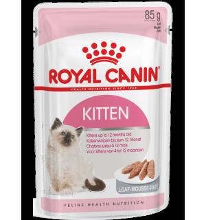 Влажный корм ROYAL CANIN KITTEN LOAF, паштет для котят (0,085 кг)