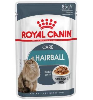 Влажный корм ROYAL CANIN HAIRBALL CARE (0,085 кг)