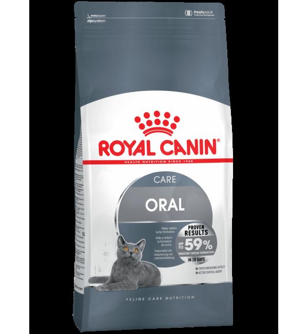 Сухой корм ROYAL CANIN Oral Sensitive Care для профилактики зубного камня (0,4 кг)
