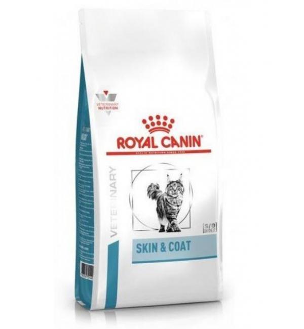 Сухой корм ROYAL CANIN Skin & Coat (feline) диета для кошек (0,4 кг)
