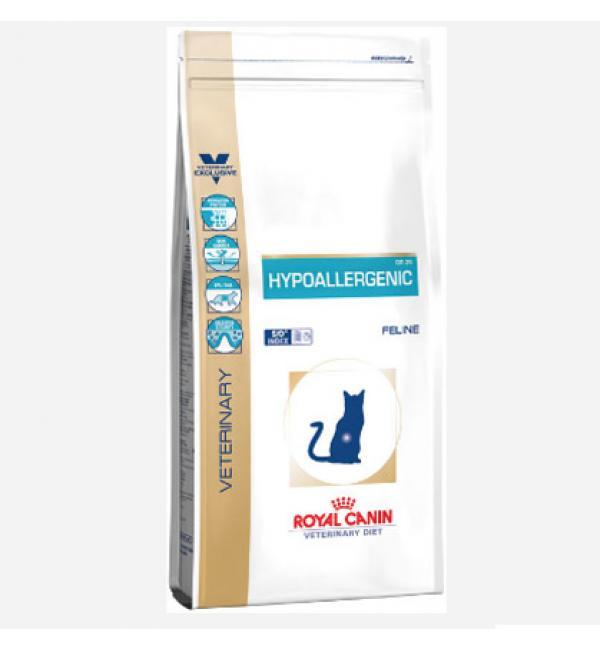 Сухой корм ROYAL CANIN Hypoallergenic Feline диета для кошек при аллергии (2,5 кг)