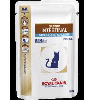 Влажный корм ROYAL CANIN MODERATE GASTRO INTEST FELINE влажная диета для кошек (0,085 кг)