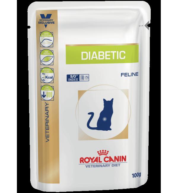 Влажный корм ROYAL CANIN DIABETIC FELINE влажная диета для кошек (0,1 кг)