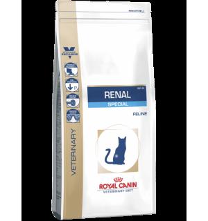 Сухой корм ROYAL CANIN Renal Special Feline диета для кошек с почечной недостаточностью (2 кг)