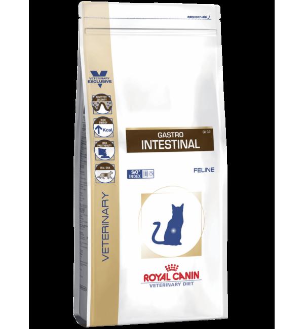 Сухой корм ROYAL CANIN Gastro-Intestinal Feline диета для кошек (0,4 кг)