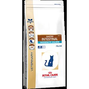 Сухой корм ROYAL CANIN Gastro Intestinal Moderate Feline диета для кошек (2 кг)
