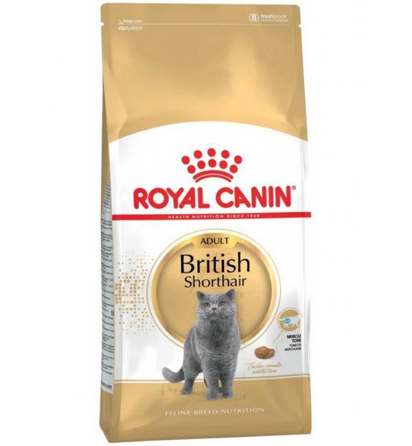 Сухой корм ROYAL CANIN British Shorthair для британских короткошорстных кошек (10 кг)