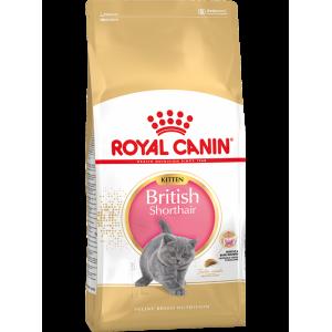 Сухой корм ROYAL CANIN Kitten British Shorthair для британских котят (2 кг)