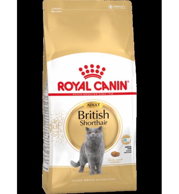 Сухой корм ROYAL CANIN British Shorthair для британских короткошорстных кошек (4 кг)