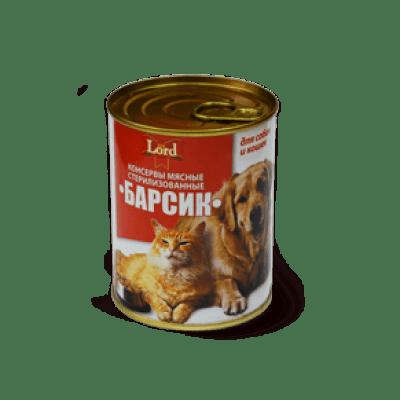 Консервы мясные «Барсик Гурман» (0,338 кг)